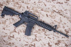 M4A1 carbine Royalty Free Stock Photography