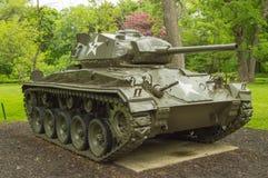 M24 Chaffee轻型坦克 免版税库存照片