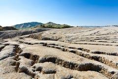 mąci glebowych volcanoes Zdjęcia Stock