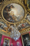 mąci salon Versailles zdjęcia royalty free