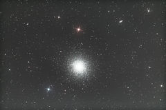 M13 - Conjunto globular de Hercules Foto de Stock Royalty Free