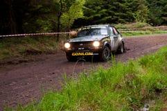 M. Conlon driving Ford Escort Stock Photos