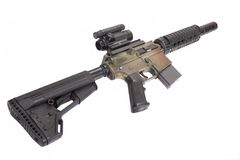 M4 CQB rifle Stock Photo