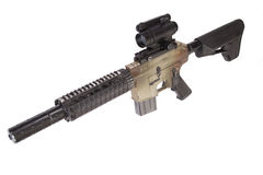 M4 CQB rifle Royalty Free Stock Images