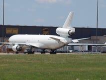 M.D.-11 Cago Jet Unmarked royalty-vrije stock fotografie