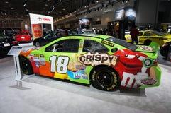 M & de Raceauto van M Candy Toyota Stock Stock Foto's