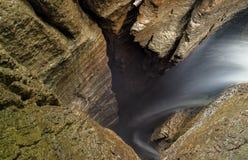 75M Deep Cave Access Mayei Ecuador Royalty Free Stock Photos
