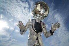 M. discoball zonneschijn royalty-vrije stock afbeeldingen
