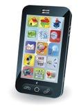 mądrze mobilny nowy telefon Obrazy Stock