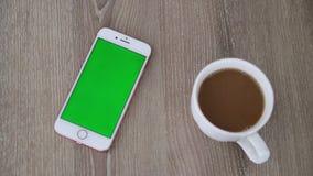 M?drze telefon zieleni ekran zbiory