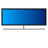Mądrze TV zdjęcia stock