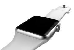 Mądrze zegarka srebra aluminium Obrazy Royalty Free