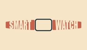 Mądrze zegarka wektoru ilustracja Fotografia Stock