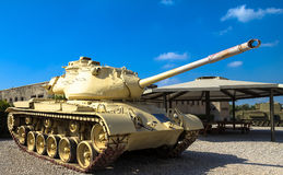 M47 E1/E2 Patton Main Battle Tank Latrun, Israël Photos libres de droits