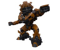 M-002. Engine robot autobot transformers  transform lovely Royalty Free Stock Photography