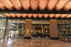 M-Erholungsortausrichtungsbereich in Las Vegas, Nanovolt am 20. August 2013 Lizenzfreies Stockfoto
