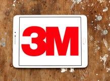 3m företagslogo Arkivbilder