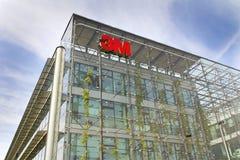 3M företagslogo på högkvarterbyggande Royaltyfri Foto