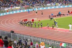 10000m Frauenrennen Stockbild