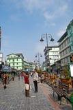 M G Marg, Gangtok imagem de stock royalty free