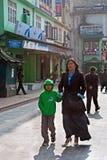 M G Marg, Gangtok Royalty Free Stock Photography