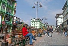 M G Marg, Gangtok Stock Image