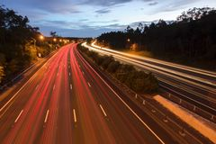 M1 Gold Coast Αυστραλία εθνικών οδών Στοκ Φωτογραφία