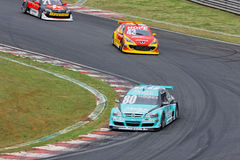 M Gomes Stock Car Interlagos Sao Paulo Brazil Stock Photography