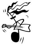 M. Guitar Images libres de droits