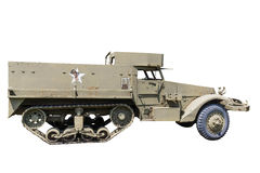 M-3A1 Halftrack APC Royalty Free Stock Images