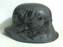 M17 helmet. Drawing. Stock Photos