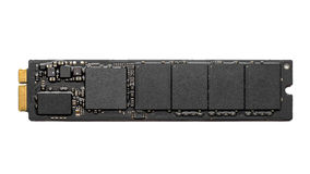 M2 high speed SSD closeup Royalty Free Stock Photography