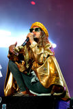 M.I.A., a rapper named Mathangi Maya Arulpragasam, performs at FIB Festival Stock Photos