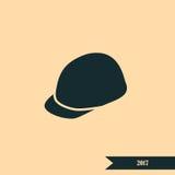 Hełm ikona Fotografia Stock
