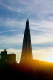 306m kąt wola  był budynku budowy eu hdr punkt zwrotny London nowego scrapper czerepu strzału nieba subtelnym wysokim poniższym  Zdjęcie Stock