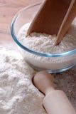 mąka biel Zdjęcie Royalty Free