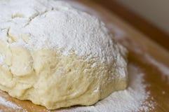 mąka ciasta Zdjęcie Stock