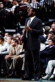 M L Carr,波士顿凯尔特人队主教练 免版税库存照片