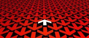 M?l och riktning stock illustrationer