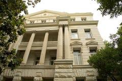 M'LCNNAN TX的市政厅 库存照片