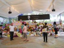 M. Lee Kuan Yew (16 09 1923 - 23 03 2015) Image libre de droits