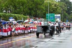 M. Lee Kuan Yew Singapore de cercueil de chariot d'arme à feu Images stock