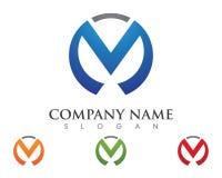M Letter Logo Business Image libre de droits
