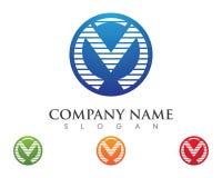 M Letter Logo Business Photo libre de droits