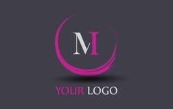 M Letter Logo Design Fotos de Stock Royalty Free