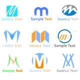 M letter Logo Royalty Free Stock Photo