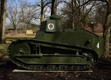 M1917 Light Tank. This is a picture of the M1917 Light Tank on display at Cantigny Tank Park located in Winfield, Illinois in DuPage County.  The M1917 Was one Stock Images