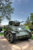 M5A Light Tank Royalty Free Stock Photography