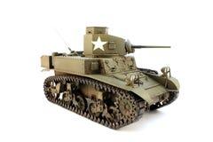M3 light tank  3/4 view Royalty Free Stock Photos
