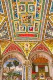 M?lningar f?r Siena domkyrkaduomo, Italien royaltyfria foton